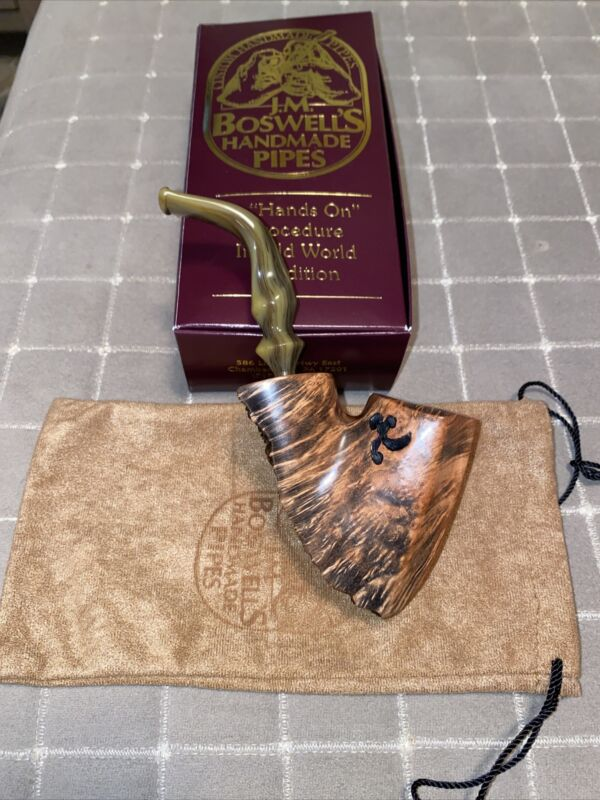 J.M. BOSWELL 2021 NEW Reverse Plateaux Pipe Made In The USA