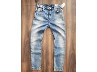 Mod: M 914.000.51B A04 Grau W33,34 L32 Hyperfree Replay Anbass Herren Jeans