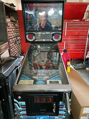 Williams Terminator 2 Judgement Day Pinball Machine FREE SHIPPING!!!!!
