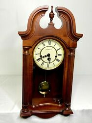 23 Howard Miller Westminster Chiming Wall / Mantle Clock Model 613-227 Working!