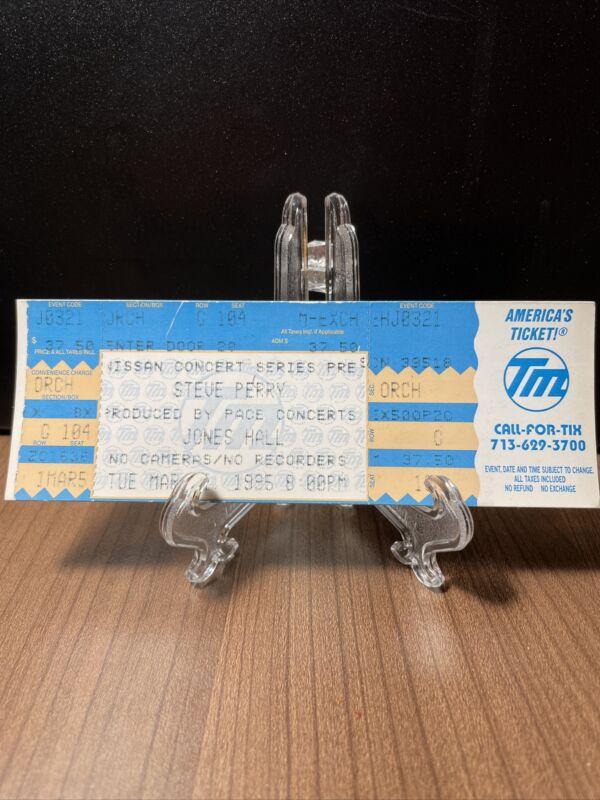 Steve Perry Concert Ticket Unused Vintage March 21 1995