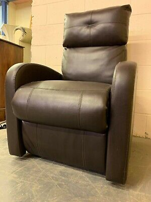 Restwell Rise and Recline Armchair Brown Leather