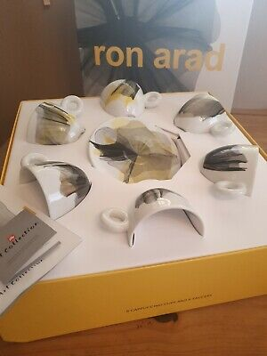 Illy art Collection - Ron Arad set 6 Cups CAPPUCCINO