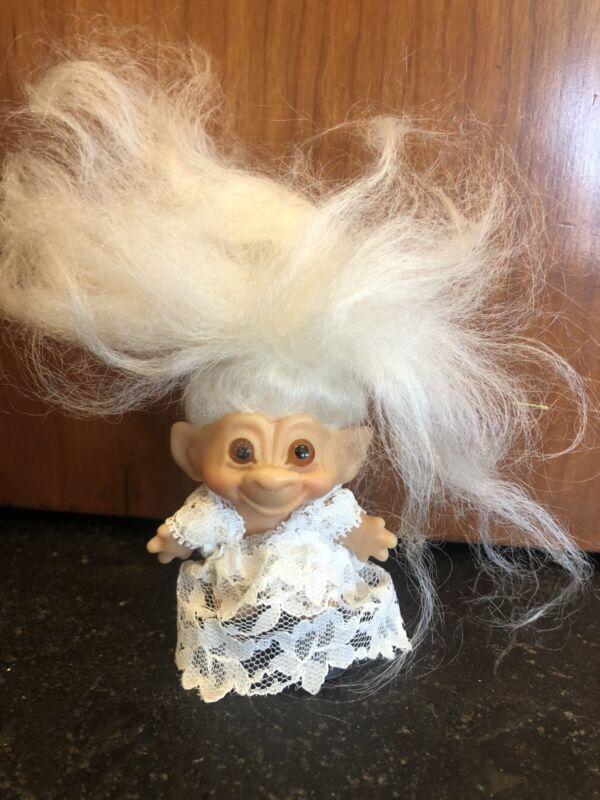 Vintage 1960's Thomas Dam Troll Doll