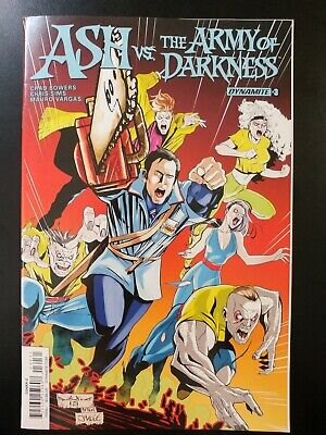 ASH and the ARMY of DARKNESS #3c (2017 DYNAMITE Comics) ~ VF/NM Comic