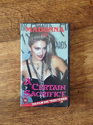 Madonna A Certain Sacrifice VHS