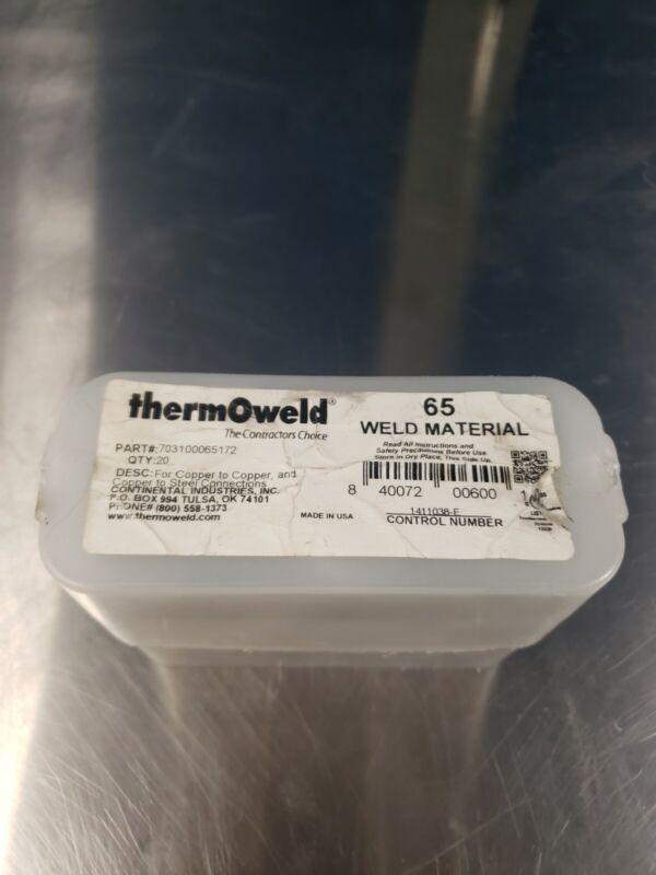 ThermOweld 65 -(16 Pack Standard Weld Material) 703100065172