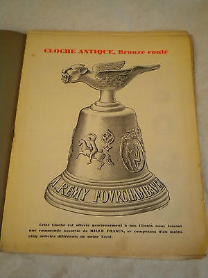 vintage Catalogue 1928 Remy hardware products and fittings french