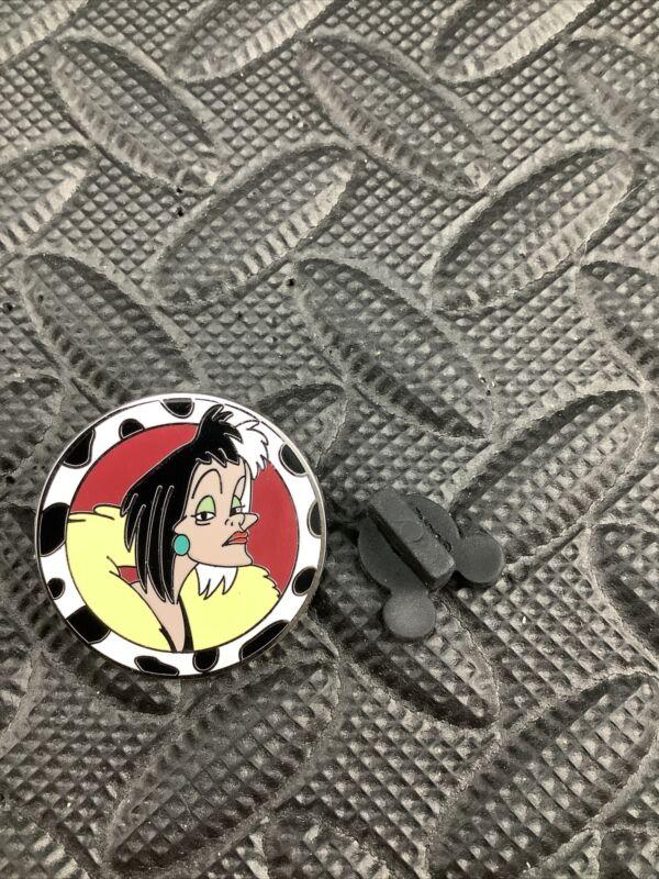 CRUELLA DE VIL 101 Dalmatians - Good Vs Evil Mystery Pack Collection Disney Pin