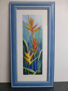 Framed Floral Prints by Karen Foley - Striking Heliconias I Umina Beach Gosford Area Preview