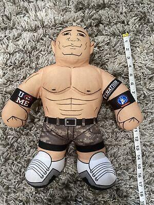 "2011 WWE Mattel John Cena Brawlin Buddies Talking Plush Stuffed Wrestler 16"""