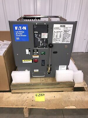 Ds206 Low Voltage Power Circuit Breaker 800amp Eaton Cutler Hammer W S52lsi H