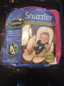 NEVER USED Car Seat Cover /NEVER USED Pink Snuzzler