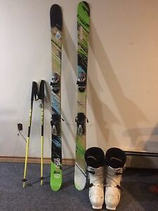 Twin Tip Ski Package