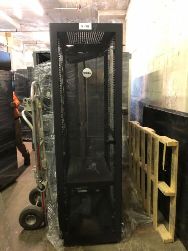 Dell 4210 42U Server Rack Cabinets with Casters, no sides