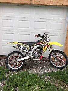 2008 rmz 250 with lots of extra parts and spare engine