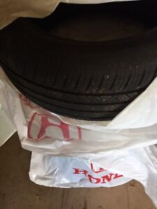 Lightly used all weather tires