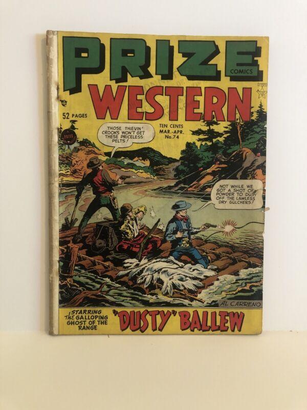 Prize Comics Western #74