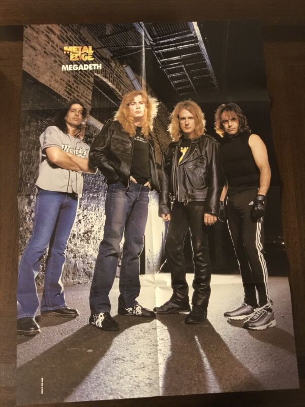 Megadeth System Of A Down Poster 20x30