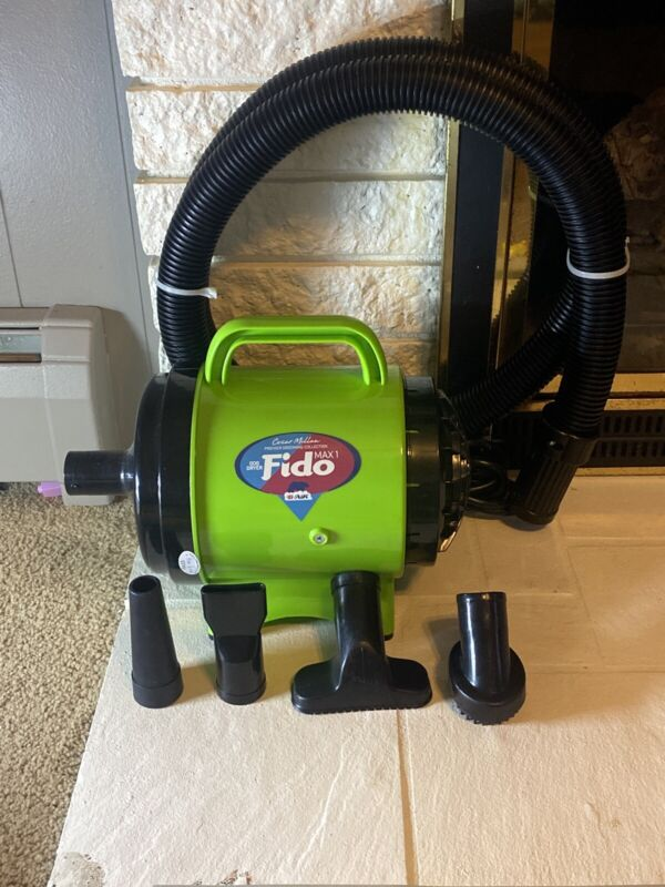B-Air Fido Max 1 Dog Dryer - Open Box! Tested!