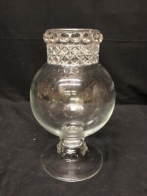 Dakota Apothecary Jar Store Counter Glass Candy Jar Great Condition