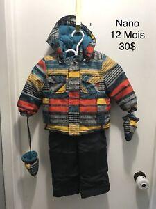 Manteau bébé 12 Mois