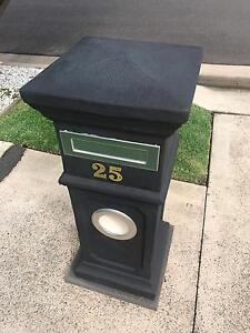 Letterbox Plymouth Charcoal ceramic Letterbox Bondi Beach Eastern Suburbs Preview