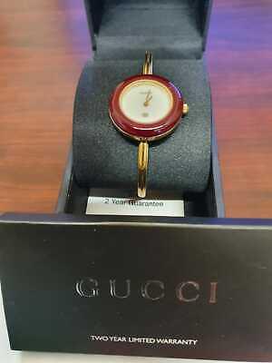 Retro Vintage Ladies Gucci multi bezel 17 Interchangeable Bezels