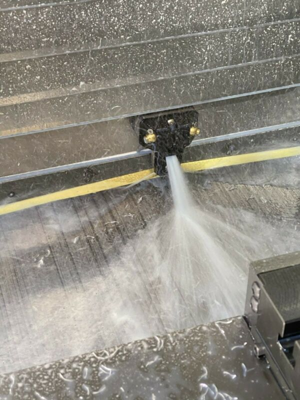Haas VF Y Axis Sprayers - Adjustable