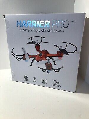 Harriet Pro Quadcopter Drone W/Wi-Fi Camera DRW4570