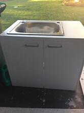 Laundry tub and cabinet Riverview Lane Cove Area Preview