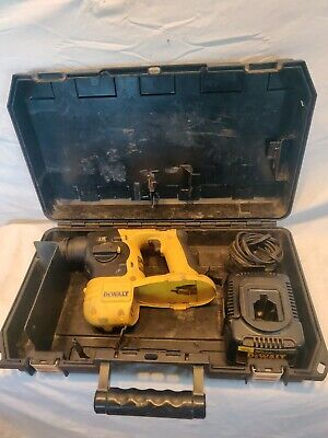 Dewalt Dc212 18-volt Sds Cordless Rotary Hammer Drill Bare Tool Charger Works.