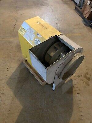 Twin City Fan Blower Size 122 Bav Industrial Exhaust Blower 2hp - Def-13