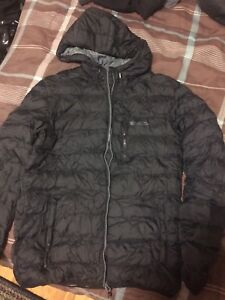 Insulated jacket for winter.