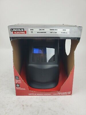 Welding Helmet From Lincoln Electric Auto Darkening 11 Lens Solar K3057-1