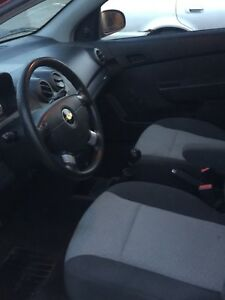 Chevy aveo 2011