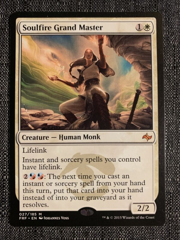 Soulfire Grand Master Nm Fate Reforged Mtg Magic The Gathering