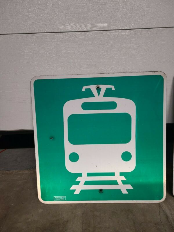 Authentic Trolley Sign