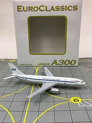 RARE AeroClassics 1:400 SAS Scandinavian Airlines Airbus A300 SE-DFK , used for sale  Shipping to Canada