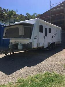 jayco 2011 basestation outback great condition