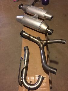 CRF250R dual exhaust *NEW*