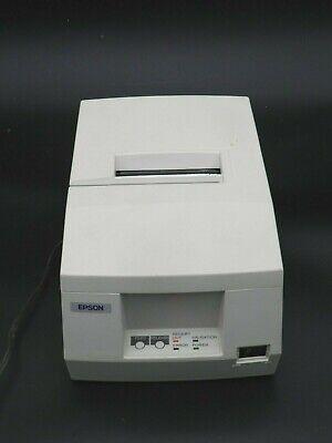 Epson Tm-u325pd M133a Dot Matrix Pos Receipt Printer W Oem Ac Adapter