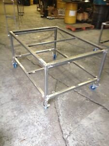 Indudtrial S.S  Cuttings Tables frame