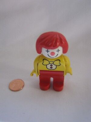 LEGO DUPLO CLOWN for CIRCUS CARNIVAL 2.5