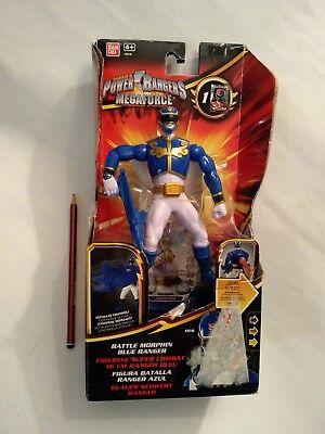 Bandai 35140 - Power Ranger Megaforce - Battle Morphin blau - Neu / OVP ()