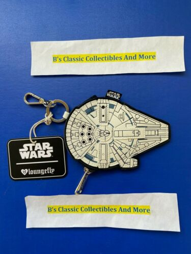 Loungefly Star Wars Coin Bag - Millenium Falcon Zip Coin Bag SOLO Movie New!