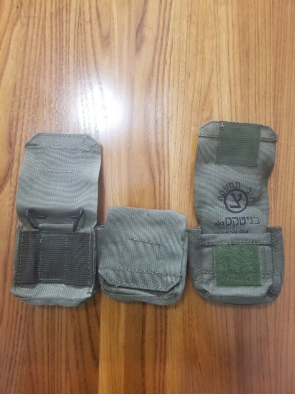 Lot Of 20 Israeli Idf Ammo Pouch Military Surplus