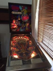 Pinball machine 1972 Williams Adamstown Newcastle Area Preview