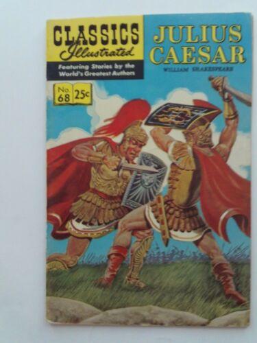 Classics Illustrated #68 - JULIUS CAESAR- HRN 169 VG