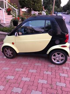 Smart car for two convertable